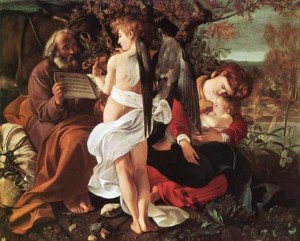 carav rest on the flight into Egypt