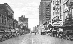 ELM STREET DALLAS 1920