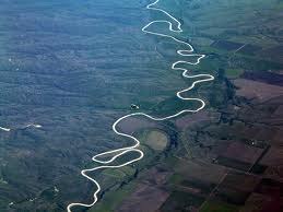 river winding