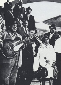 Memphis, Otis, Muddy, Bill, Sonny Boy, Big Joe, Len, Victoria Spivey, Willie, Matt