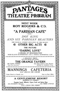 pantages_playbill
