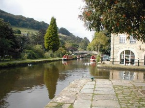 Hebden Bridge 7  canal