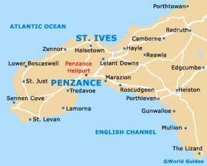 St Ives 7 map
