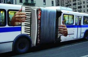 bus accordian