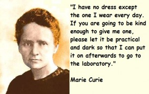 Marie-Curie one dress