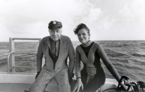 Sylvia and Hugh Downs