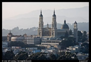 St Ignatius Church, University of California. San Francisco, California, USA