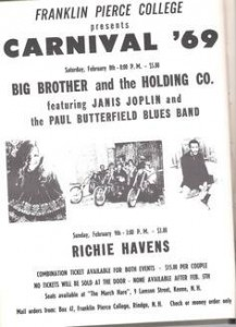 Franklin Pierce College Carnival 9 Feb 69