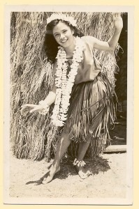 hawaii hula girl