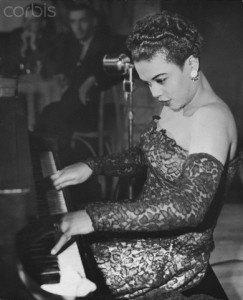 Hazel Scott Playing Piano